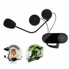 1 pair Bluetooth Helmet Intercom FM Headset