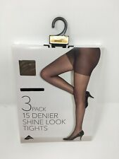 b203b8846db4d Ladies BRONZE Tights ,knee highs & ankle highs 10 & 15D tights 3PP in S