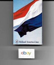 HOLLAND AMERICA LINES PLAYING CARDS DUTCH/NETHERLANDS FLAG DESIGN