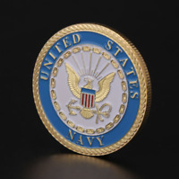 United States Navy Commemorative Coin Souvenir Challenge Collectible Coins