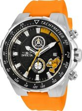 Invicta 25158 Character Collection Men's 49mm Chrono Stainless Steel Black Dial