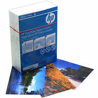 "HP Vivid 7x5"" Glossy Photo Paper for Inkjet Printers 220 Sheets 230gsm (Q8891A)"