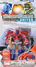 Used TakaraTomy Transformers United UN01 Optimus Prime Cybertron Mode Painted