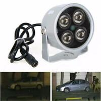 4 LED Infrared Night Vision IR Light Illuminator Lamp IP Camera MZUS