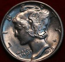 Uncirculated 1939-S San Francisco Mint Silver  Mercury Dime