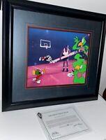 Warner Bros Michael Jordan Cel Space Jam The Great Space Erase Animation Cell