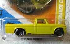 Lemon Yellow 2011 NEW MODELS Hot Wheels '63 STUDEBAKER CHAMP 29/244