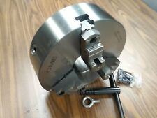 """12"""" 3-JAW SELF-CENTERING LATHE CHUCK K11 315A top&bottom reversible jaws #1203F0"""