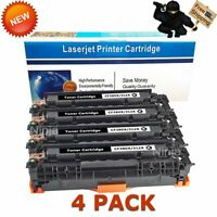 4PK Black CF380X Toner Cartridges for HP 312X Laserjet MFP M476nw M476dn M476dw
