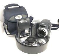 Kodak EASYSHARE DX6490 4.0MP Digital Camera - Black TESTED +BATTERY#709