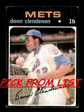 1971 Topps 3-260 Pick From List All PICTURED