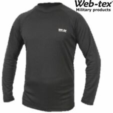 Camisetas interiores negros de poliéster para hombre