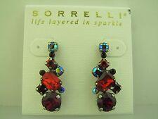 antique silver tone Sorrelli Cranberry Earrings Ecf6Ascb