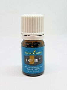 Young Living White Light 100% Pure Therapeutic-Grade Essential Oil 5 ml NEW
