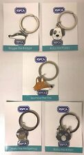 *RSPCA* Keyring. Set of 5. Collect Them All! NEW Design. *RSPCA*