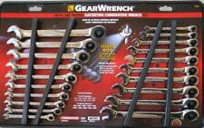 GearWrench 20pc INCH /METRIC Ratcheting Combination Wrench Set# 35720
