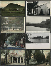 Middleburgh NY: Lot of Eight c.1905-1950s Postcards VARIOUS VIEWS, BUILDINGS