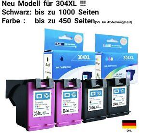 Druckerpatrone für HP 304 XL DESKJET 2620 2630 2633 3700 3720 3730 Envy 5020...