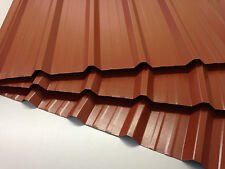 Box profile,Plastic Coated,0.7mm, Terracotta,tin roofing panels