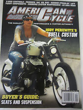 American Cycle Magazine August/September 2011 Jody Perewitz's Buell Custom