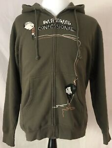 Dashboard Confessional 2006 Dusk To Summer Tour Green Hoodie Sweatshirt Medium