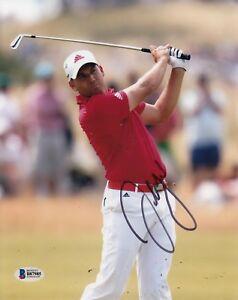Sergio Garcia #0  8x10 Signed 8x10 Photo Beckett Certified Golf 041118