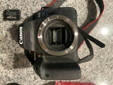 Canon EOS 77D 24.2 MP Digital SLR Camera - Black w/ 50mm lens