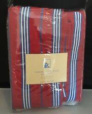Pottery Barn Curtain Panel (1)  Kids Classic Red Stripe 44W X 63L Lined Drape