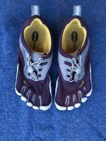 Vibram FiveFingers Womens sz 38 US 7.5 Running Water Shoes Purple White