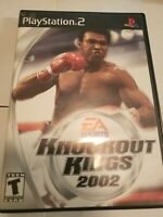 Knockout Kings 2002 (Sony PlayStation 2, 2002) Complete PS2