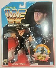 WWF/WWE Hasbro Wrestling UNDERTAKER Blue CARD TOMBSTONE TACKLE SERIES 4 MOC