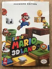 Super Mario 3D Land - Brand New and Sealed PRIMA 3DS COLLECTORS EDITION GUIDE