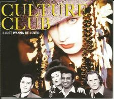 Boy George CULTURE CLUB I Just Be Loved & Do you really MIXES CD single SEALED