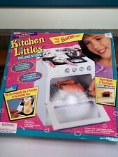 Vintage 1995 Tyco Kitchen Littles Deluxe Stove Oven Rare w/ Food