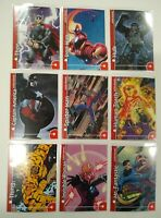 2013 Fleer Retro Marvel Complete Set of 25 Stickers Insert Cards Free Shipping !