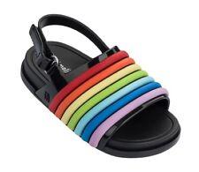 Charming Rainbow kids Girls Shoes Sandals Toddler Mini Melissa US Size 7-11