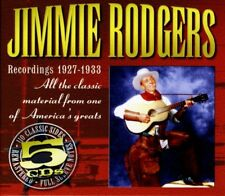 JIMMIE RODGERS - ALL THE CLASSIC SIDES 5 CD NEW!