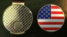 Top Quality Americal Flag Us Flag Magnetic Hat Clip and Golf Ball Marker