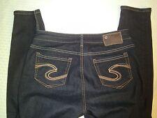 """Silver Jean Co. Woman's Blue Nova Leggings Size W29 L31 Waist 30"""" Inseam 30"""""""