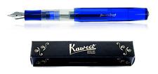 Kaweco Sport Ice Fuellhalter blau-transparent B (bold)