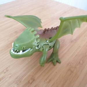 How To train Your Dragon Green Battle Dragon Figure Toy