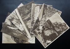 Somerset CHEDDAR GORGE & CAVES 8 x Collection - Old Postcard by Cox's Series