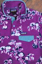 Patagonia Lightweight Synchilla Snap-T Pullover Mushroom Purple Women's Medium M