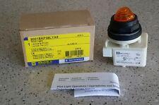 *NEW IN BOX* SQUARE D 9001SKP38LYA9 AMBER PILOT LIGHT Ser. H Schneider Electric