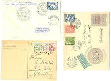 DENMARK - GREENLAND 5 x COVER / CARD ---F/VF