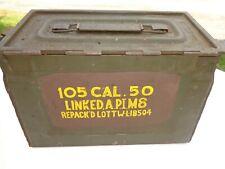 WWII ? Caisse,boîte à munitions  US Army Cal. 50  ammunition box,VIDE