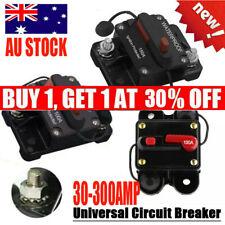 30A-300A AMP Circuit Breaker Fuse Reset 12-48V DC Car Boat Auto Waterproof AU