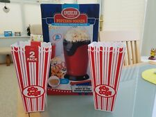 American Popcorn Maker & 4 Large Cups
