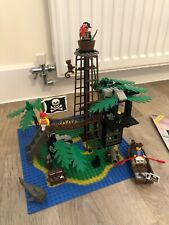 Lego Vintage Pirate 6270 Forbidden Island 100% Complete With Instructions No Box