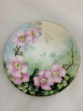Antique J P Jean Pouyat Limoges Hand Painted Decorative Plate Collectors